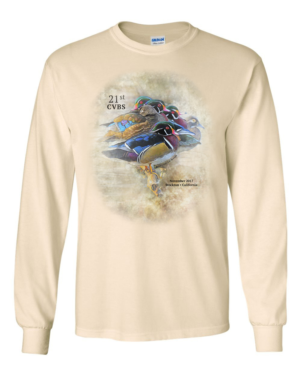 Unisex Long Sleeve T-Shirt (color: Natural)