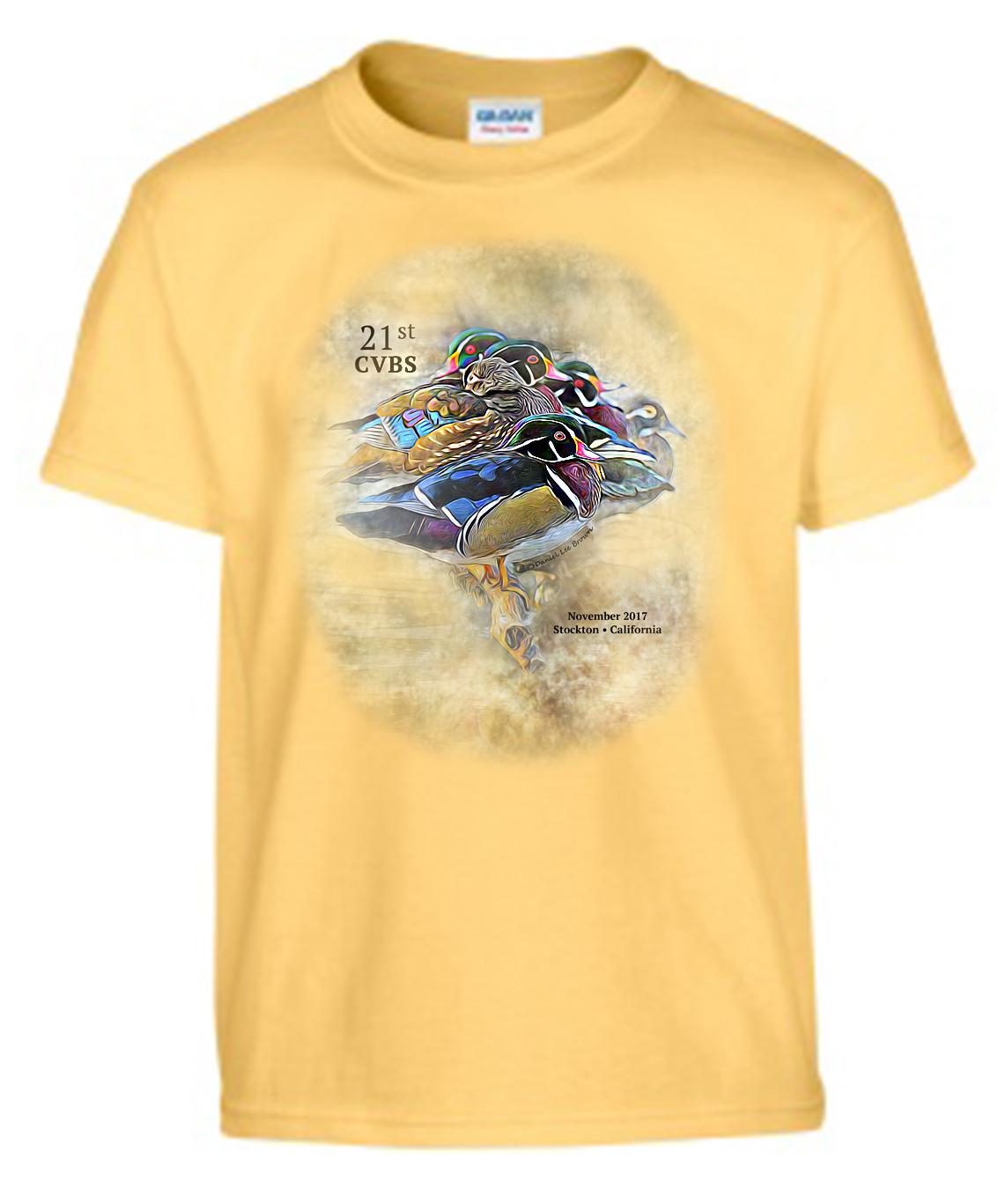 Unisex T-Shirt (color: Yellow Haze)