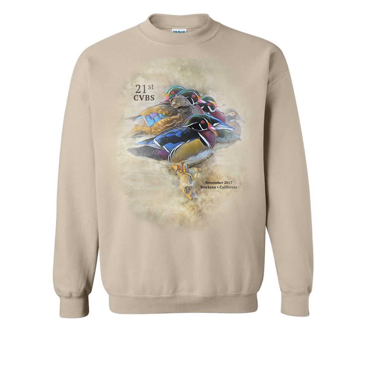 Unisex Sweatshirt (color: Sand)