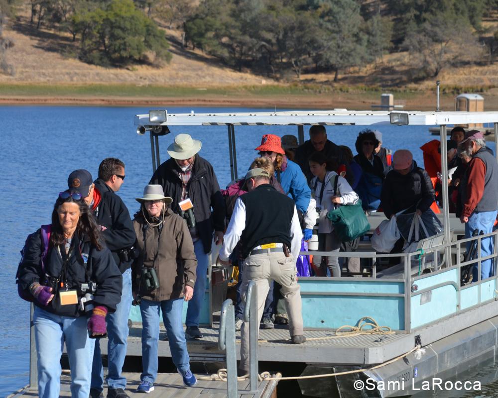 Pardee Reservoir Eagle Boat Trip